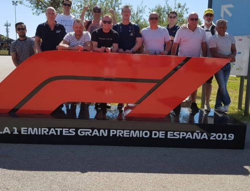Know The Name ambassadeurs actief bij de Formule 1 van Barcelona